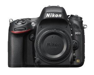 Nikon D Mp Cmos Fx-format Cámara Slr Digital (solo