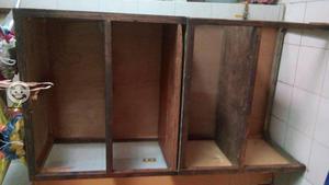 Vendo mueble de madera para preparar alimentos