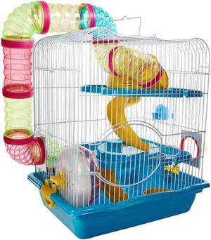 Jaula Para Hamster De Lujo *envío Gratis