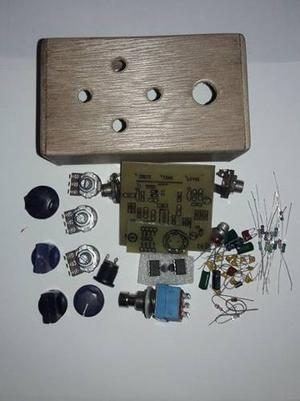 Kit Para Armar Big Muff Green Rusian Pedal Guitarra Diy