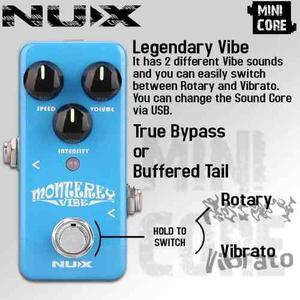 Monterey (vibe) Nux - Envio Gratis