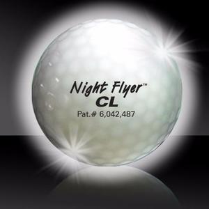 Paquete De 5 Pelotas De Golf Luminosa Led Blancas
