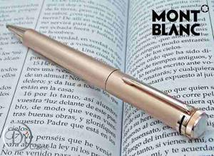 Pluma Montblanc Capless Rollerball Heritage  Oro Rosa