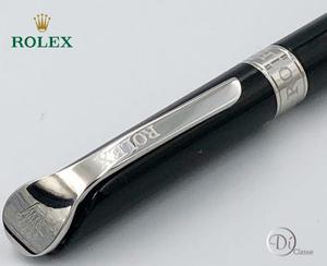 Pluma Rollerball Rolex Explorer Black En Plata