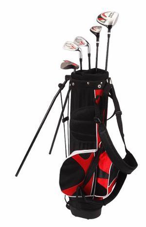 Set De 8 Palos De Golf Nitro Blaster Junior Con Bolsa Maleta