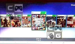 Xbox 360 Slim Con Dd 500 Gb Con 70 Juegos Kinect 1 Control