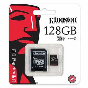 Memoria Micro Sd 128gb Kingston Clase 10 Tablet/cel/camara