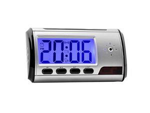 Reloj Despertador Con Cámara Espía Control Remoto Video
