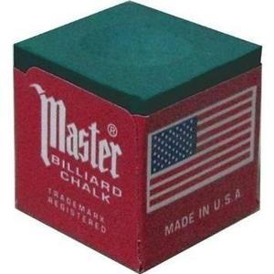 Set De 12 Tizas P/ Taco De Billar Master Billiard V/ Colores