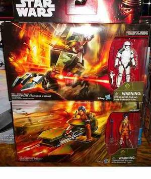 Assault Walker Stormtrooper Y Ezra Speeder Star Wars Rebelds