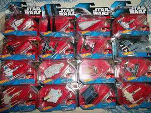 Gunship Destroyer X Wing Tie Vader Hot Wheels Lote Star Wars