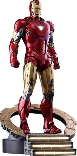 Hot Toys Iron Man Mark Vi (6) Diecast 1.6 Avengers Marvel