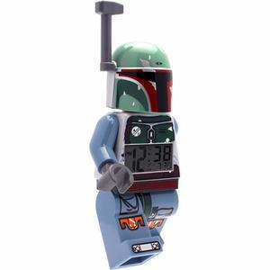 Lego Star Wars Boba Fett Juguete Despert Reloj Luz Diego Vez