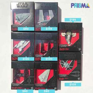 Nave Starwars Titanium Varios Modelos Y Precios Pregunta