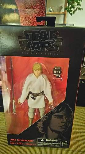 Star Wars Black Series 6 Luke Skywalker Farm Boy