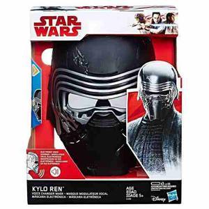 Star Wars Mascara Electronica Kylo Ren Modificador Voz