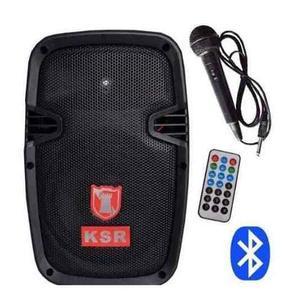 Bocina Bafle Amplificador Bluetooth Usb Kaiser 8 Pulg  W