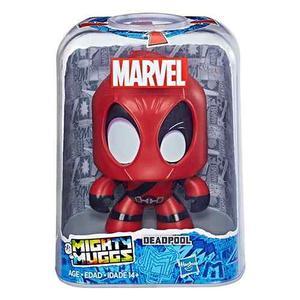 Oferta Figura Marvel Deadpool Mighty Muggs 3 Caras *