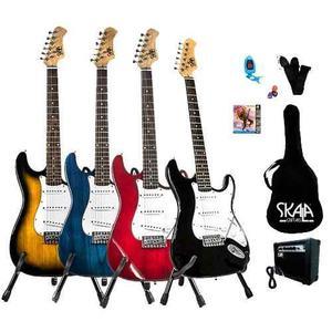 Paquete Guitarra Electrica Skala Marca Alien Incluye Envio