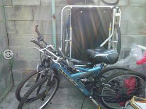 Remato equipo de bicicletas y triciclo