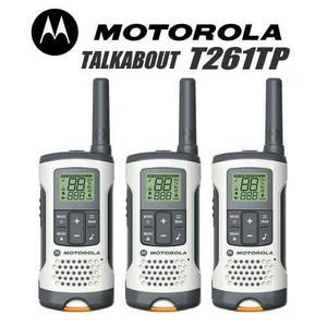 3 Radios Motorola Talkabout T261tp Bidireccional