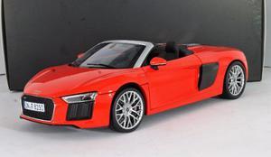 Audi R8 Spyder V10 Rojo Escala 1:18 Iscale