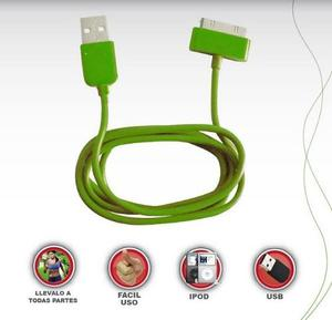 Cable Usb De Datos Para Iphone 4/ Ipod Colores Nuevo