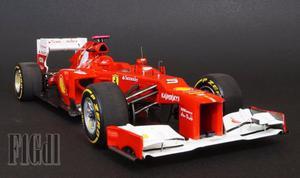 F1 Ferrari F-12 Fernando Alonso  Hot Wheels Elite 1/18