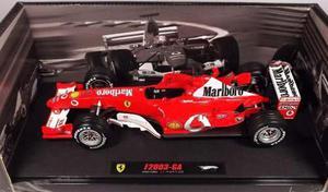 F1 Michael Schumacher Ferrari Mrlboro F Hot Wheels Elite