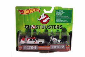 Hot Wheels Ghostbusters Ecto 1 Y Ecto 2 Cazafantasmas