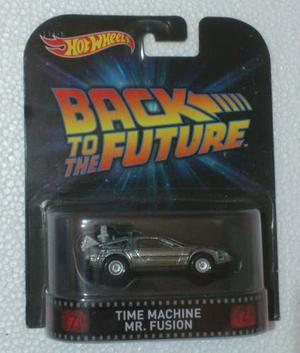 Hot Wheels Retro Time Machine Mr. Fusion Volver Al Futuro