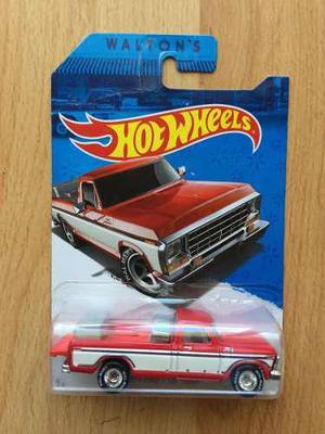 Hot Wheels Sam Walton Exclusivo Walmart Ford Llantas De Goma