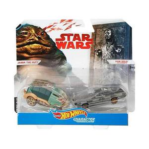 Hot Wheels Star Wars Jabba The Hutt Y Han Solo