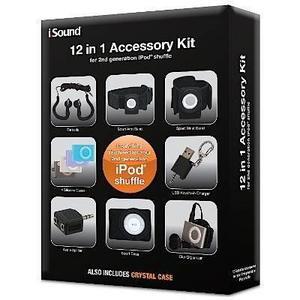 Paquete De Accesorios Para Ipod Shuffle Kit 12 En 1 - Isound