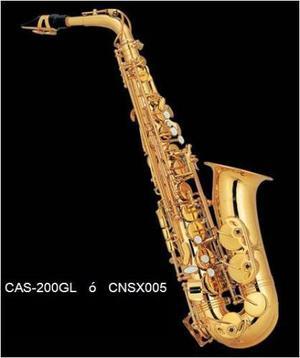 Saxofon Alto Laq Dorado Eb Century Cnsx005 Confirma Existenc
