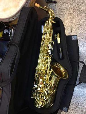 Saxofon Alto Laqueado Mercury Envio / Estuche Gratis 12msint
