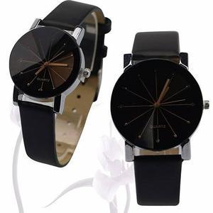 2 Relojes Para Pareja Hombre Mujer Duo Conjunto Reloj Unisex