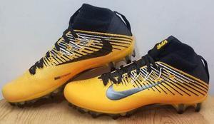 Cleats, Tachos Nike Vapor Untouchable 2 Amarillo Y Negro