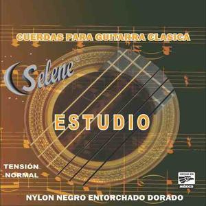 Cuerdas De Nylon Para Guitarra Acustica Versión Estudio