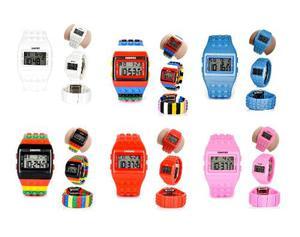 Reloj Shhors Precio Especial, Contra Agua, Color Al Azar