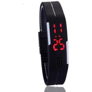 Reloj Touch Led Digital Deportivo Unisex Color Negro Mayoreo