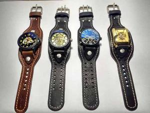 Relojes Con Muñequera 100% Piel Diferentes Modelos