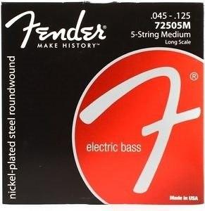 Juego De 5 Cuerdas Para Bajo Fender Nps-rwls