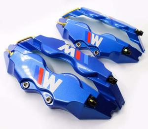 Kit De 4 Cubre Calipers Brembo Azul Con Logo Bmw