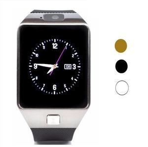 Smartwatch Dz09 Plata Y Dorado