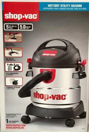 Aspiradora Shop Vac 5 Galones Modelo Nuevo  Envio Gratis