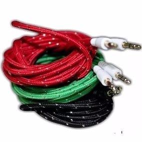 Cable Auxiliar 3.5 A 3.5 Tejido De 3m Cab-3.53m