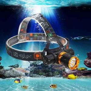 Lampara Buceo Minera  Lumens Recargable Led Sumergible