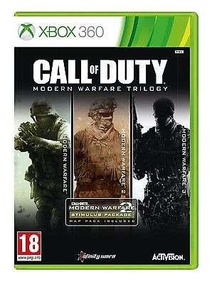 Call Of Duty Modern Warfare Trilogia Xbox 360 -- Bo3 --