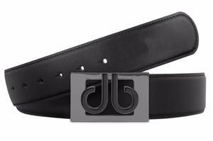 Cinturón Druh Negro De Piel Para Golf Unitalla